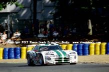 Chrysler Viper GTS-R (Cudini/Sifton/Morton) photo. Le Mans 24 hours 1996 Tertre Rouge